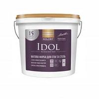 Краска для стен Kolorit Idol, 9л