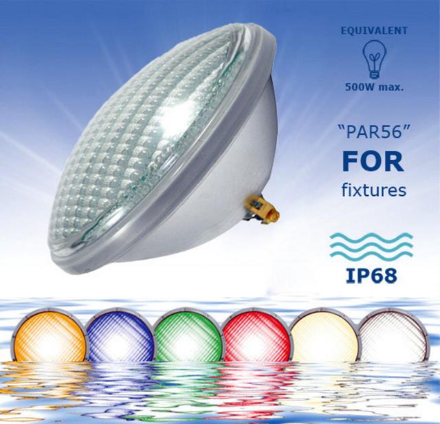 Cветодиодная лампа AquaViva PAR56–256LED