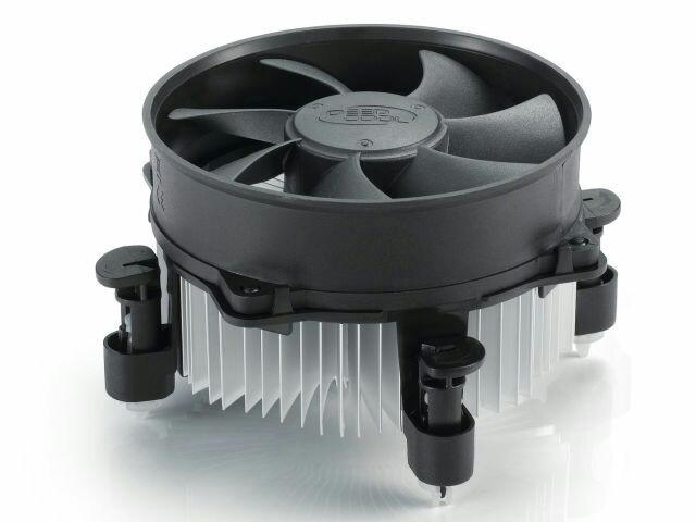 Вентилятор CPU s1150/1155/1156/775 Deepcool ALTA 9, 113x113x58.5мм 2200+10%об/мин 25дБ HB анод.алюмин.радиат
