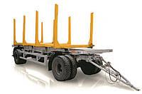 Прицеп сортиментовозный  2-х осный двухскатный на шоссейной резине