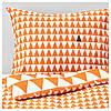 IKEA STILLSAMT Комплект постельного белья, светло-оранжевый  (103.586.59)