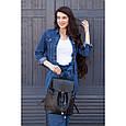 """Кожаный женский рюкзак """"Олсен"""", фото 8"""