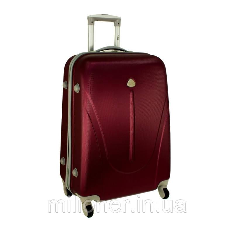 Чемодан сумка 882 XXL (большой) бордовый