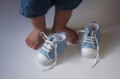 Первая обувь для мальчиков.