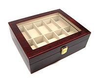 Шкатулка для часов деревянная 10 отделений Rothenschild