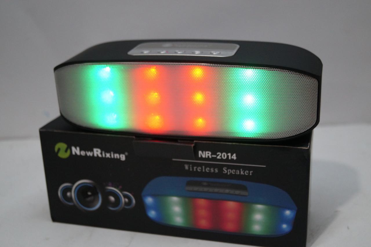Портативная bluetooth колонка New Rixing  NR2014