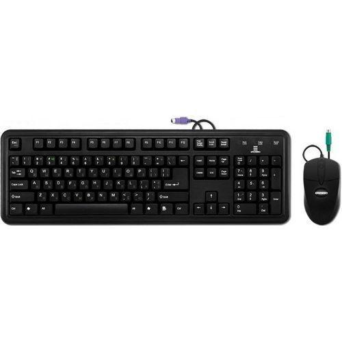 Комплект (клавиатура+мышь) Gresso GMK-2332 PS/2 Black