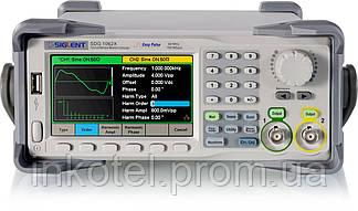 SIGLENT SDG1062X Генератор сигналов 60MHz Два канала, Частота 150 MSA, Разрешение 1 мкГц
