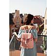 """Кожаный женский рюкзак """"Олсен"""", фото 10"""