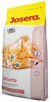 Корм сухой Josera Minette Kitten (йозера) Германия (1кг)  для котят 6-12 мес. и для беременных и кормящих кош