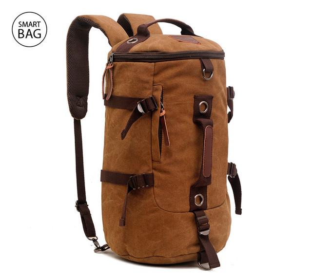Универсальный брезентовый рюкзак-трансформер Augur