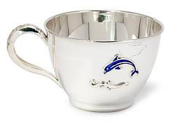 Детские серебряные чашки