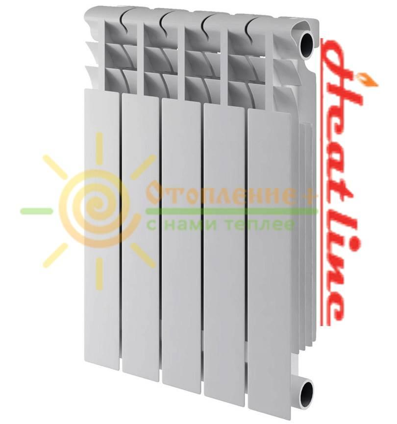 Биметаллический радиатор  HEAT LINE М-500Sx80