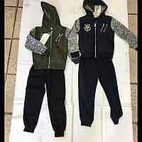 Підлітковий спортивний костюм для хлопчика з капюшоном F&D kids