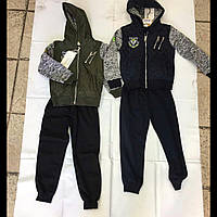 Подростковый спортивный костюм для мальчика  с капюшоном F&D kids