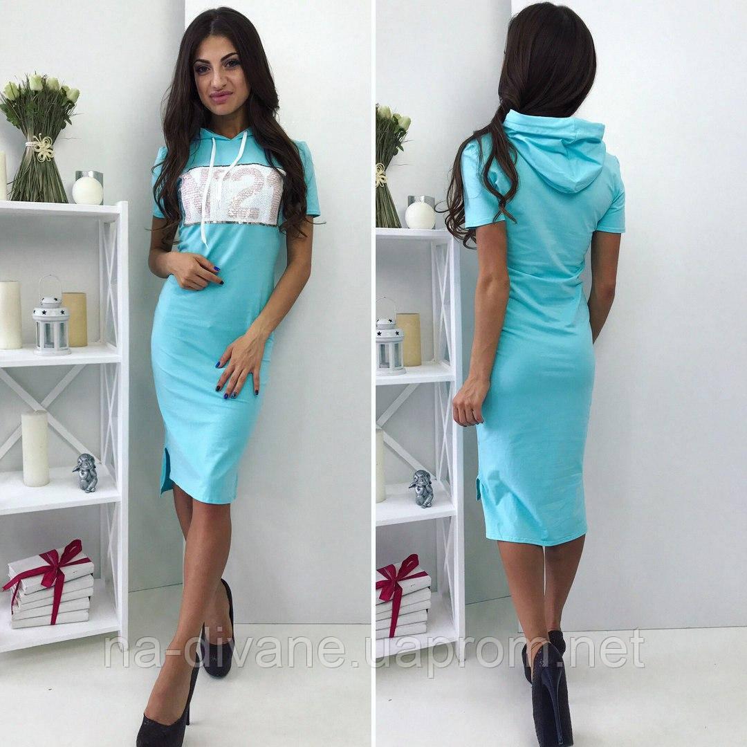 11f54d628fa63b4 Платье летнее с капюшоном 744 Север - Женская, мужская и детская одежда  оптом от Интернет