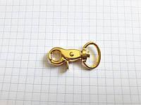 Карабин D0990 золото 15 мм