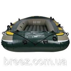 Четырехместная надувная лодка Intex 68351 Seahawk 4 Set, 351 х 145 х 48 см , фото 3
