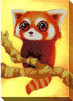 """Набор для вышивки бисером """"Красная панда"""""""