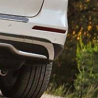 Отражатель (катафот) заднего бампера правый Mecedes-Benz ML W166 2012-2015 Новый Оригинальный