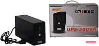Безперебійний блок живлення Gresso 500VA Off-Line AVR