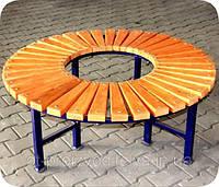 Лавка кругова садово-паркова , фото 1