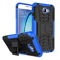 Чехол Samsung J5 Prime / G570F противоударный бампер синий