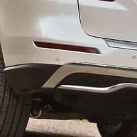 Отражатель (катафот) заднего бампера левый Mecedes-Benz ML W166 2012-2015 Новый Оригинальный