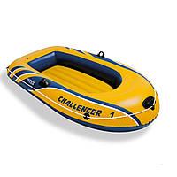 Одноместная надувная лодка Intex 68365 Challenger 1, 193 х 108 х 38 см, фото 1