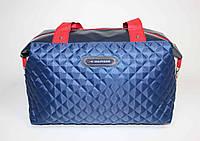 Спортивная женская сумка синего цвета