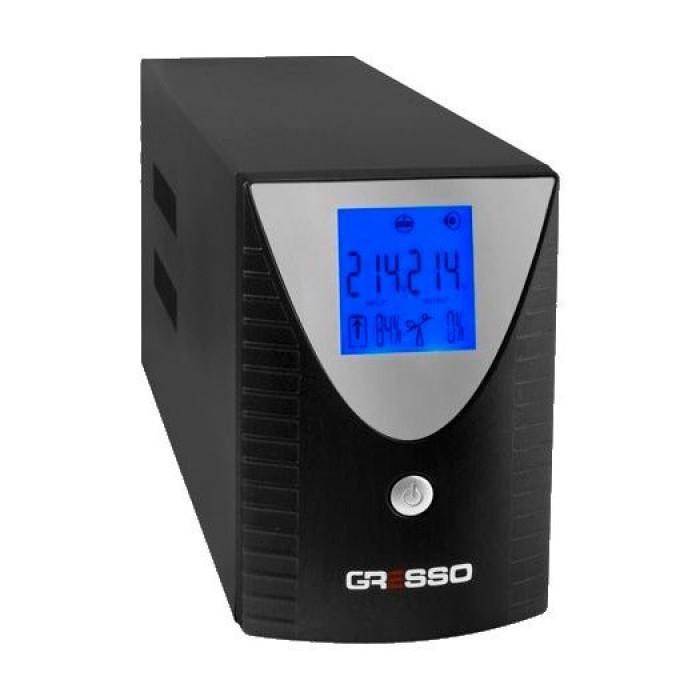 Бесперебойный блок питания Gresso KL-800VA AVR Line-Interactive LCD