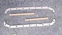 Прокладка поддона двигателя Газель,УАЗ дв.4215 пробка+картон(бутерброд) (из 4-х частей) (пр-во Россия)