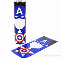 Термоусадка Superhero sticker Capitan America
