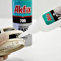 Универсальный клей-гель Akfix 705 Fast Adhesive с активатором 100 грамм, фото 3