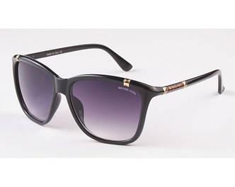 Женские солнцезащитные очки Michael Kors (8018) black SR-618