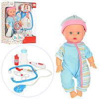 Кукла-пупс с набором доктора 201506