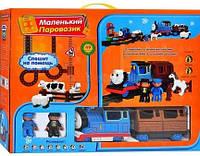 "Конструктор M 0442 U/R Паровозик ""Томас""(8888А)  аналог JIXIN"