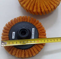Скотч брайт круг полировальный лепестковый d125 мм Р1000 оранжевый