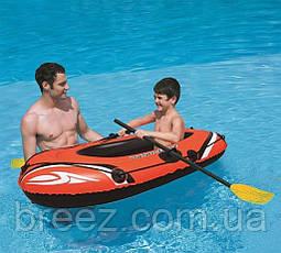 Одноместная надувная лодка Bestway 61078 Hydro-Force Raft Set, 155 х 93 см, фото 3