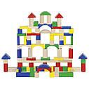 Goki Конструктор деревянный Строительные блоки 58669, фото 4