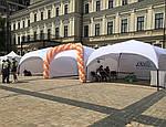 """Палатка торговая, для отдыха - """"Парк"""" 5х5 метра со шторами"""