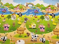 Развивающий коврик Babypol 1800x1500 Веселая ферма / Мишки