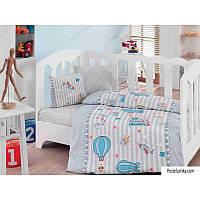 Комплект детского постельного белья Cotton Box Bebek Cezgim Mavi