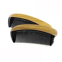 Натуральная расческа для бороды из кости и сандала