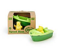 "ЭКО Игрушка ""Зеленая скоростная лодка"" Green toys"