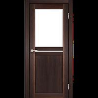 Дверь межкомнатная MILANO орех сатин бронза