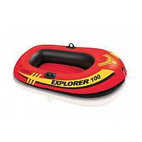 Одноместная надувная лодка Intex 58329 Explorer 100, 147 х 84 х 36 см, фото 1