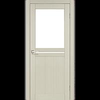 Дверь межкомнатная MILANO дуб беленый сатин бронза