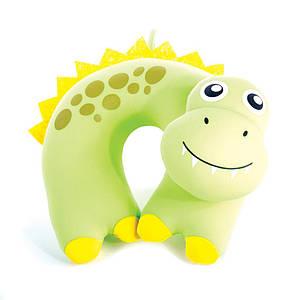 Детская дорожная подушка Spokey BAMBINI дракон,подголовник,для сна и отдыха туристическая валик