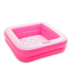 Надувной бассейн для детей с надувным дном